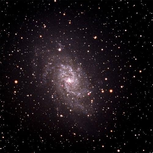 space galaxy astrophotography m33 astronomy pinwheel cosmos meade lxd75 spacephoto
