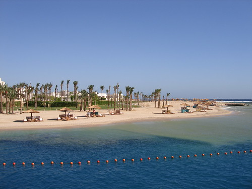 Beach, Port Ghalib, Egypt