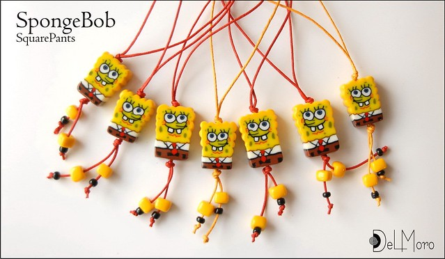 _SquarePants_WideScreen - polymer clay fimo | Flickr - Photo Sharing