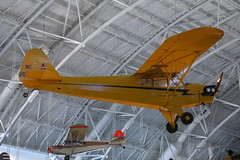 model aircraft, aviation, airplane, propeller driven aircraft, yellow, wing, vehicle, piper j-3 cub, ultralight aviation,
