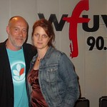 Marc Cohn with Claudia Marshall at WFUV