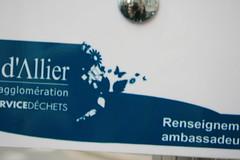 poésie & panneau recyclage (VICHY,FR03)