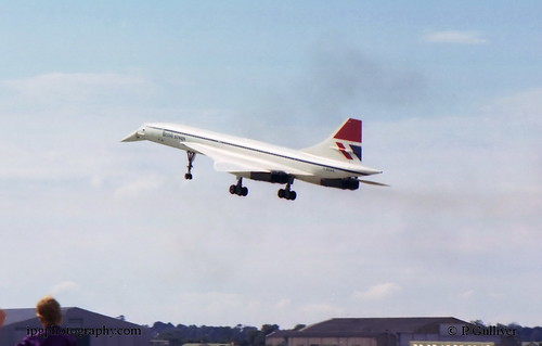Concorde supersonic airliner