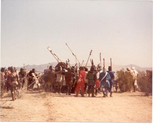 Great Desert War 1 - Road Battle