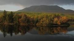 Mount Katahdin at Sunset