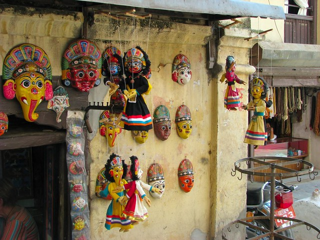 Nepali Puppets & Masks