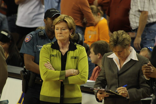 pat summit's outstanding career and gracious retirement