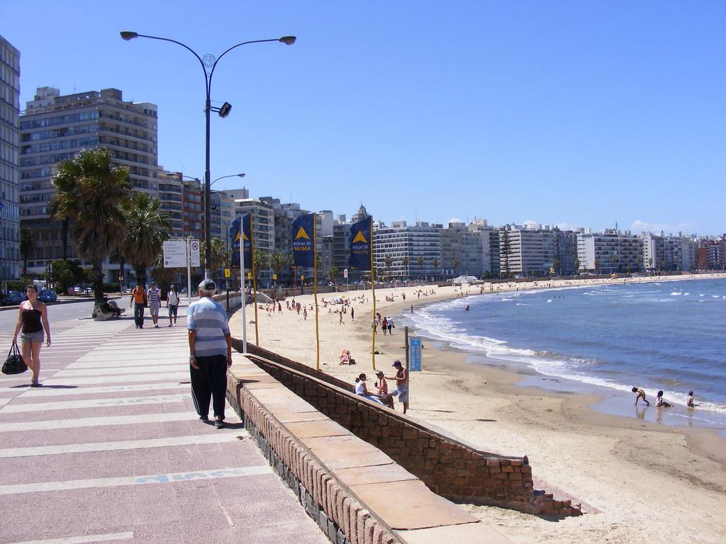 Пляжи Монтевидео