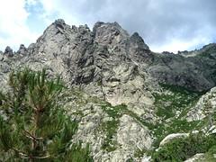 Montée à Bocca A Soglia : l'arête d'E Casette