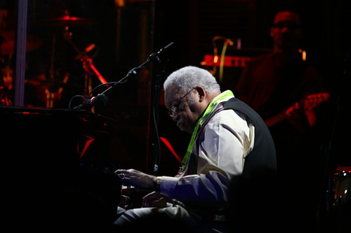 Ellis Marsalis at Piano Night 2010. (Photo by Jef Jaisun)