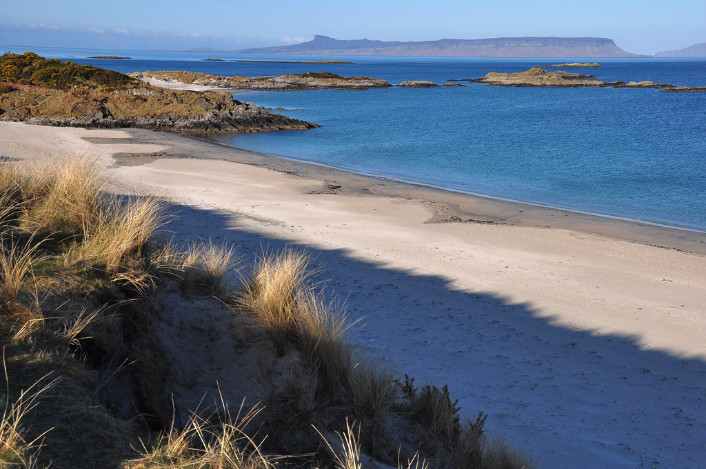 Camusdarach shadow