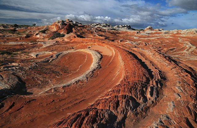 Spirals of sandstone, Paria Plateau
