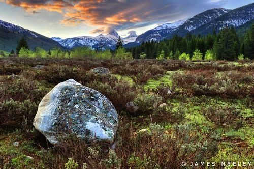 sunrise landscape idaho tetons hdr driggs 5xp tetoncanyon jamesneeley