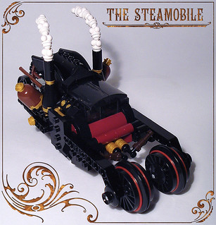 Steamobile - top view
