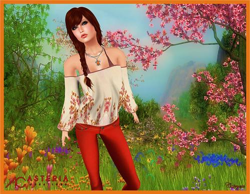 Damatjo Mesh Blouse & Bikini For Asteria by Caprycia ♕VeraWangMF2014♕