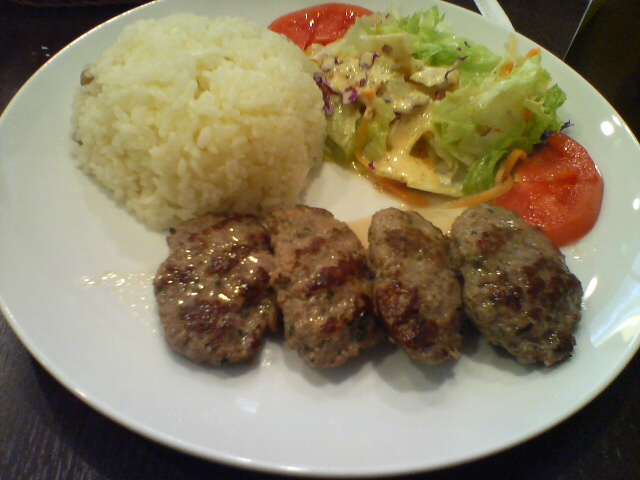 Kofte lunch plate - Star Kebab @ Akihabara | At lunch, I ate ...