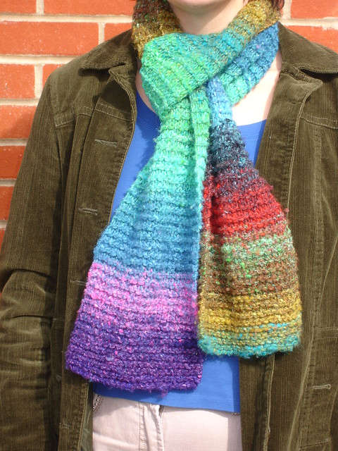 The start of it all! Noro Iro scarf