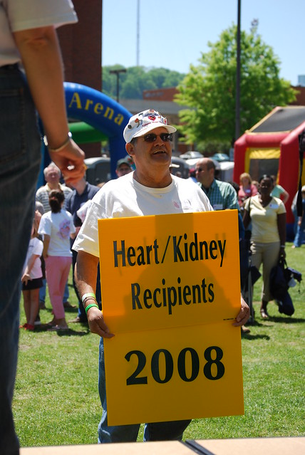 UAB heart and kidney transplant recipient