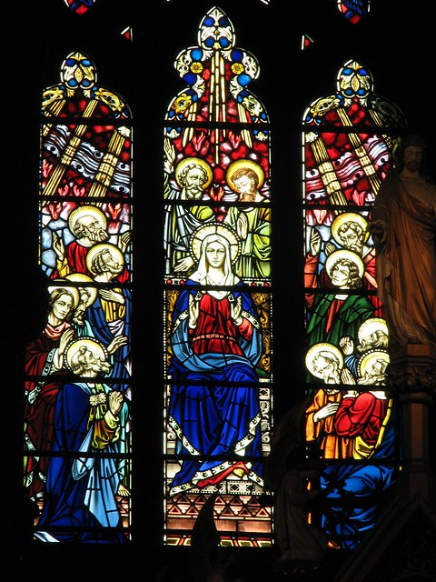 Pentecost Stained Glass Window Flickr Photo Sharing
