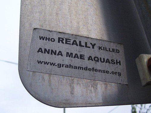 who really killed anna mae aquash