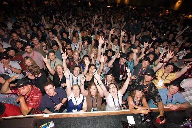 Fans at Barenaked Ladies concert | Cisco Live | Flickr