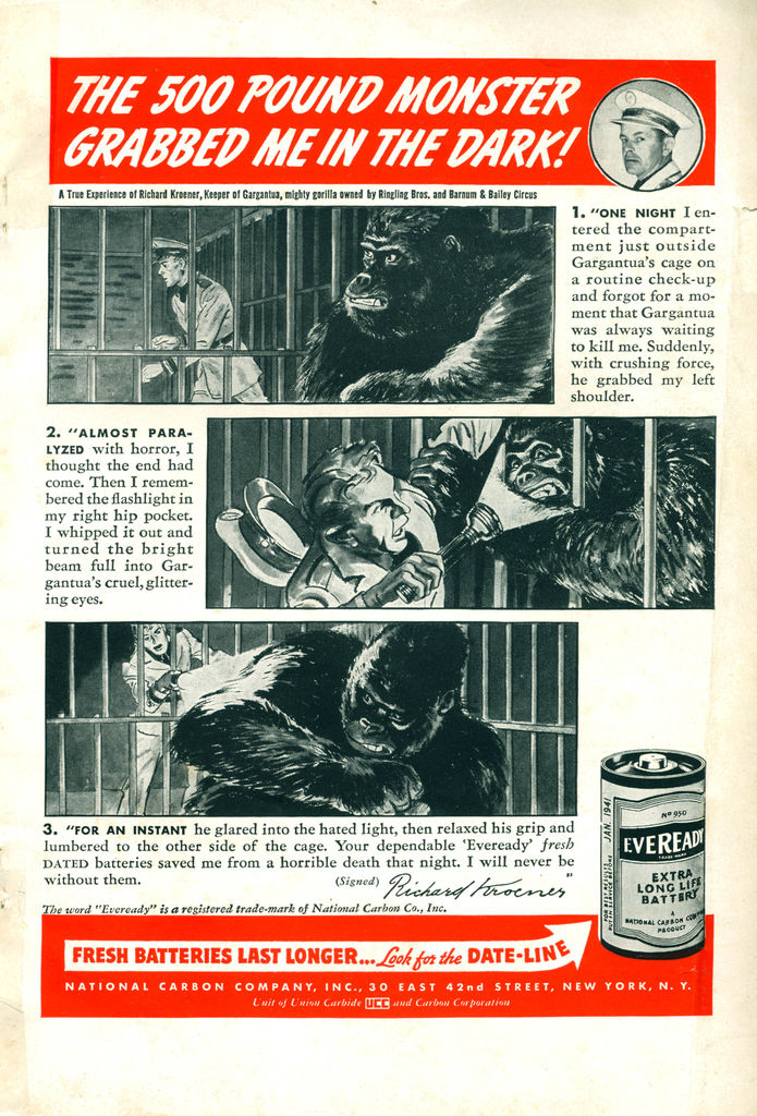 Eveready Battery Ad