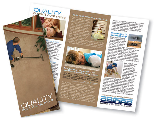carpet cleaning brochures