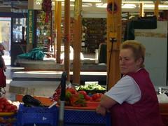 Woman in Russian Market