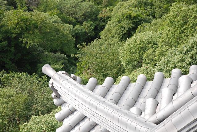 Telhado do Castelo Gifu
