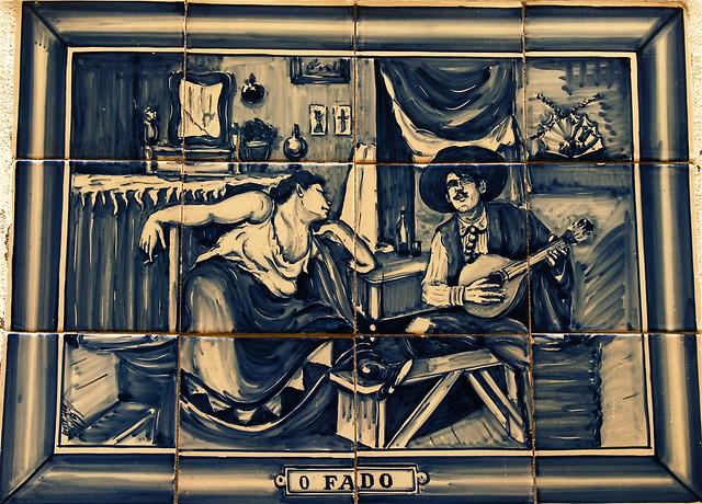 Old Portuguese Tiles : O Fado