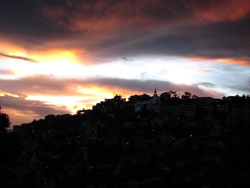 sunset church clouds dusk hills rema aizawl indiamizoramlungleiaizawlremachhakchhuakdawndusksunrisesunsethillscloudssunbirds