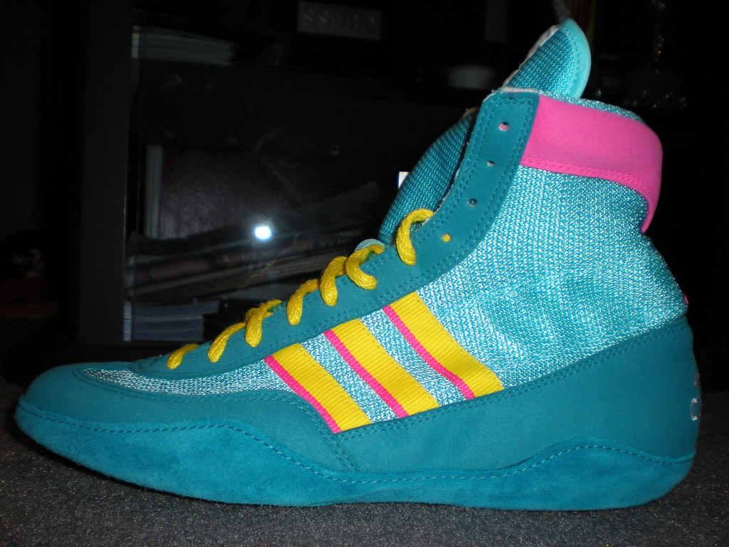 new arrivals ab66d a133f ... real uk adidas teal wrestling shoes 49c98 e0af4 14329 d934e