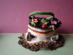 Concord ... Freeform Crochet Cuff