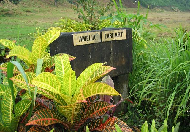Amelia Earhart's memorial, Lae, PNG