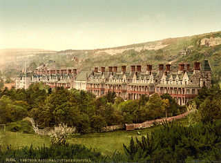 Cottage Hospital, Ventnor, Isle of Wight, England, ca. 1899