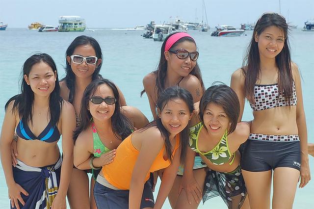 Thai Girls At The Beach  Philuknetthailandgirlshtml  Flickr-7294