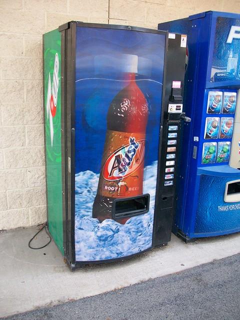 7up vending machine
