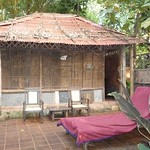 My hut at Bhakti Kutir