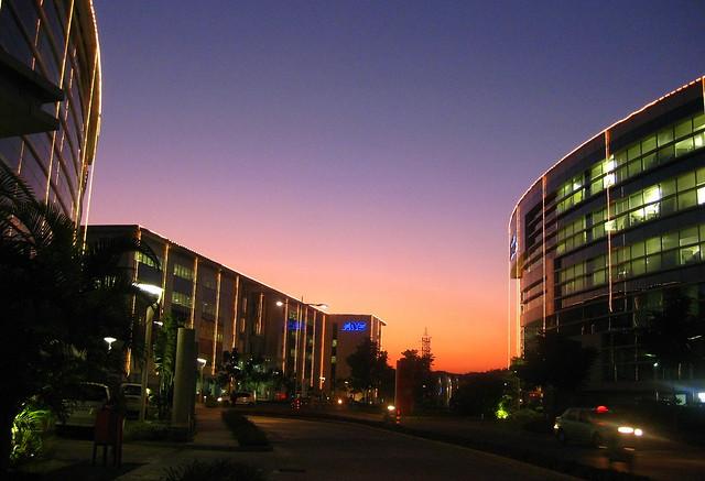 Sunset in Bangalore