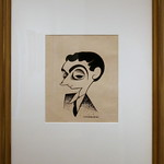 Irving Berlin, 1925 by Miguel Covarrubias, Ink and pencil on paper