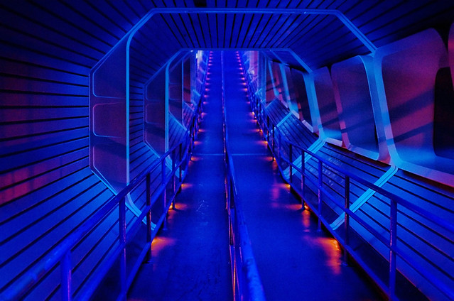 Disney Space Mountain Star Tunnel Flickr Photo Sharing