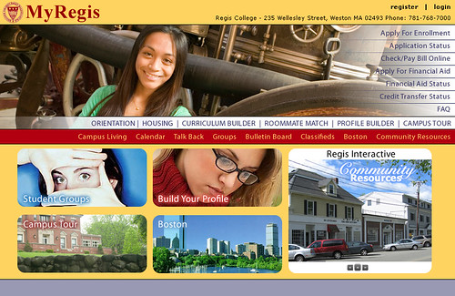 Regis College Student Portal