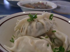 Julia's 牛肉芹菜饺子 Beef and Chinese Celery Dumplings