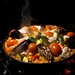New Years Paella Dinner by Ryan Opaz
