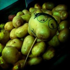 pear, green, produce, food,