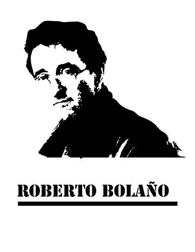 Para hacer esténcil de Roberto Bolaño