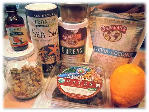 Chocolate Silk Orange Balls - ingredients