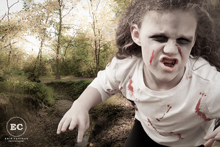 Zombie Girl Attacks