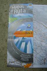 Mapas de Ruta - the excellent strip-maps we used in Colombia