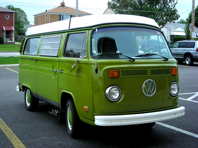 Green Vw Van Such A Delicious Avocado Green By Nicki